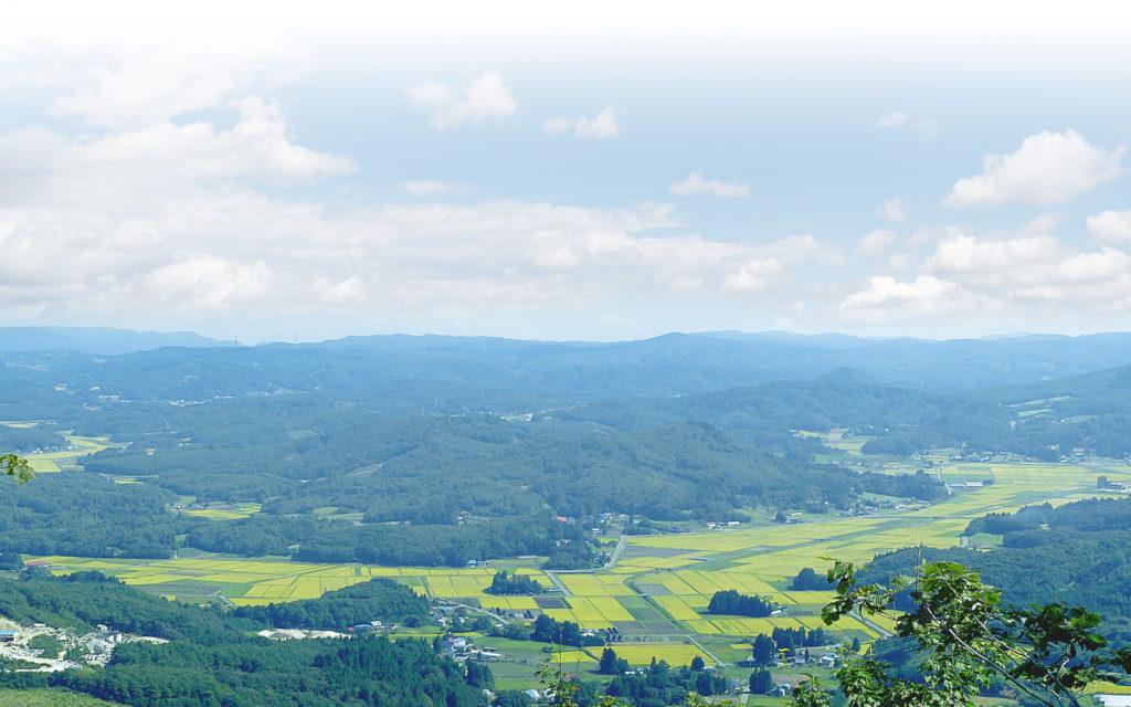 飯舘村の風景